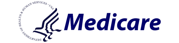 Medicare logo in blue